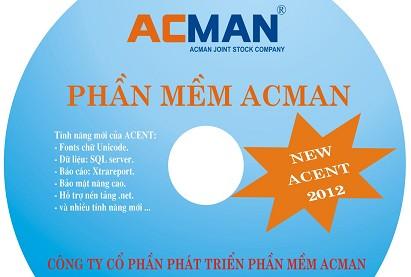 Phần mềm kế toán Acman Acent 2012